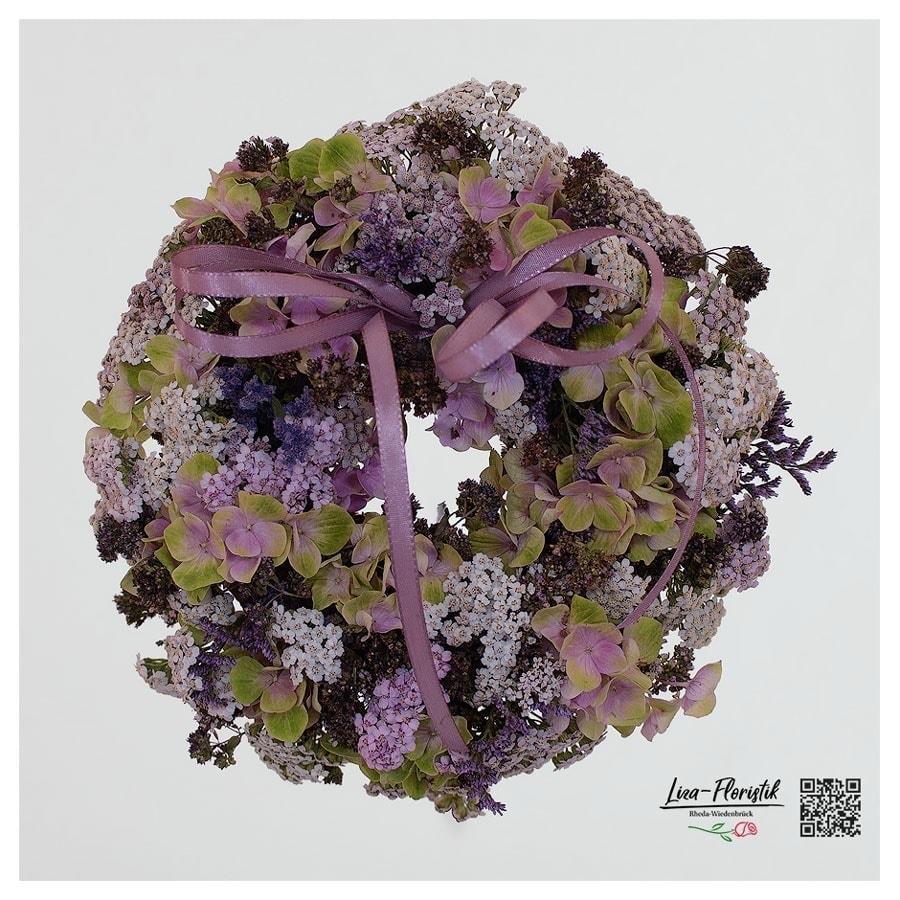 Hortensienkranz - grün